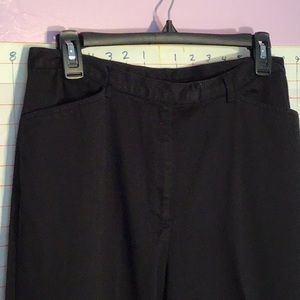 STYLE AND CO women's pants sz 14 petite black